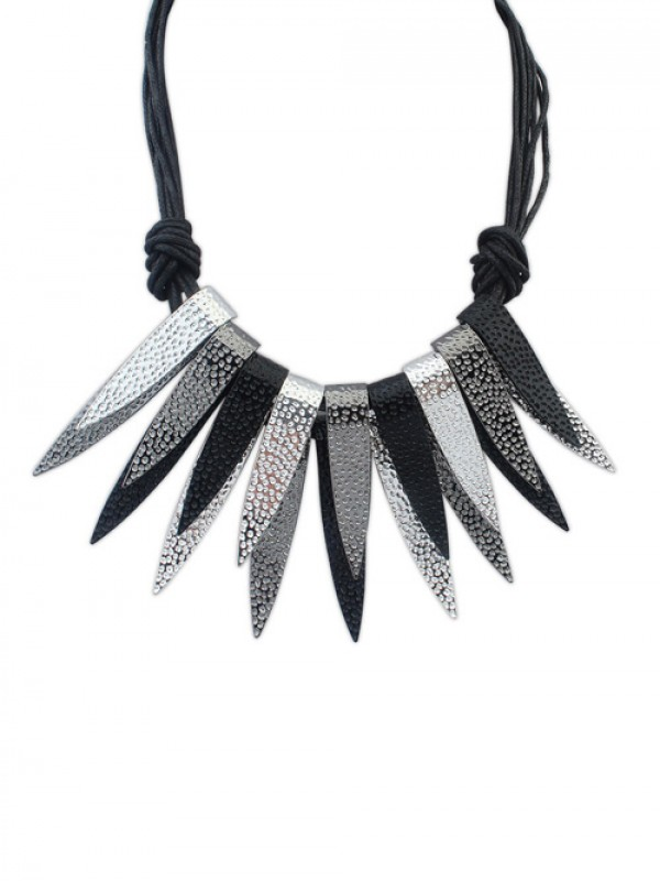 Occident Punk Personality Bunk Metallic Hot Sale Necklace