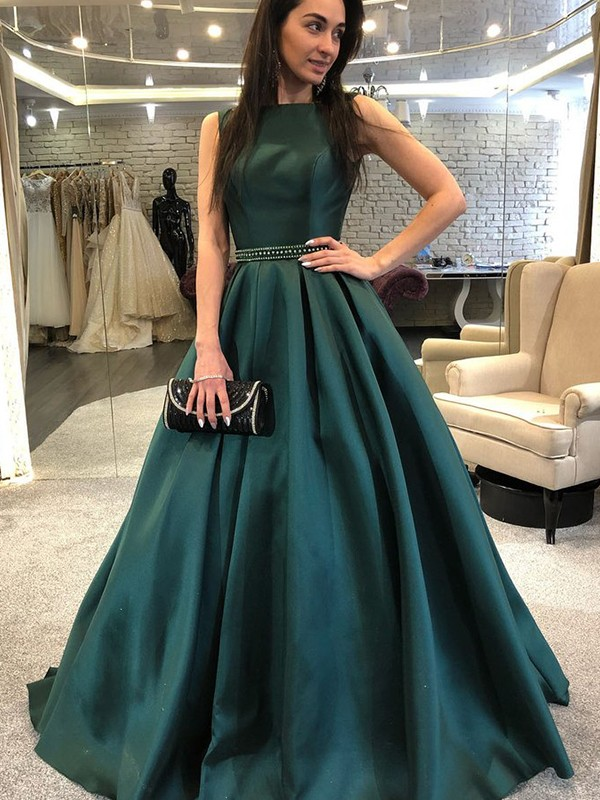 Hunter Green Prom Dresses,Green Prom Dresses 2020,