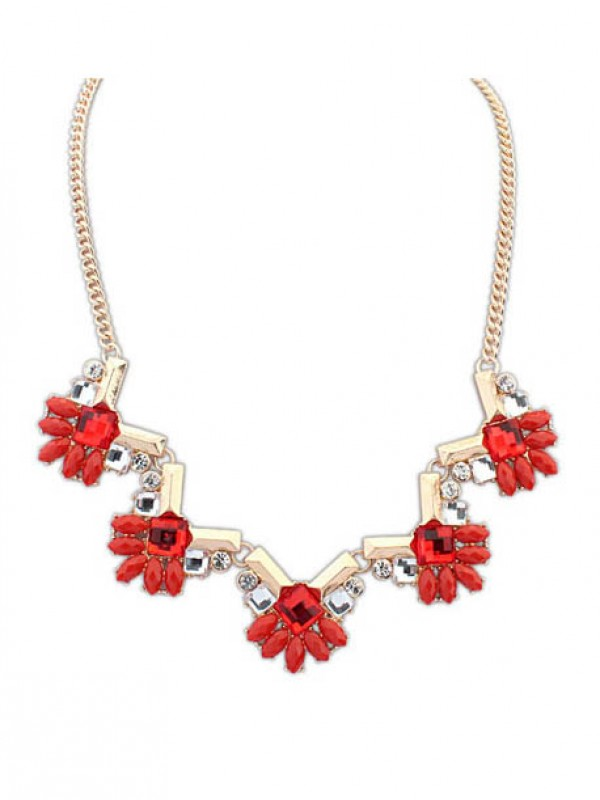 Occident New Stylish Geometry all-match Hot Sale Necklace