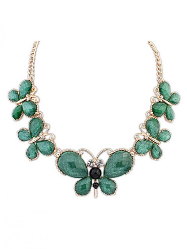 Occident Stylish Butterfly New Temperament Hot Sale Necklace