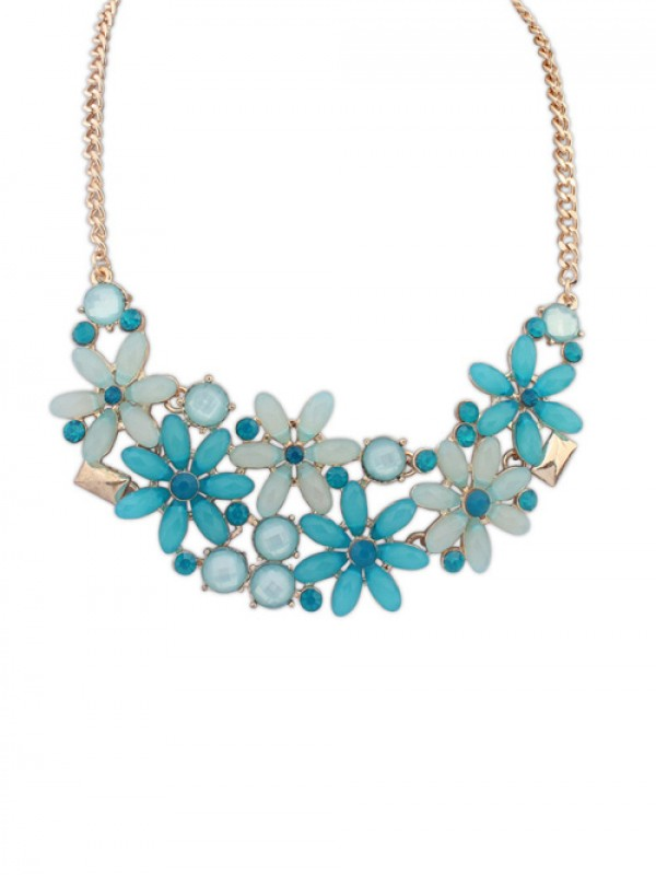 Occident Flowers Blossoming Stylish all-match Hot Sale Necklace