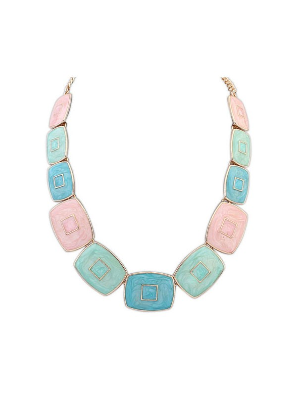 Occident Fashionable Elegant Blocks Temperament Hot Sale Necklace