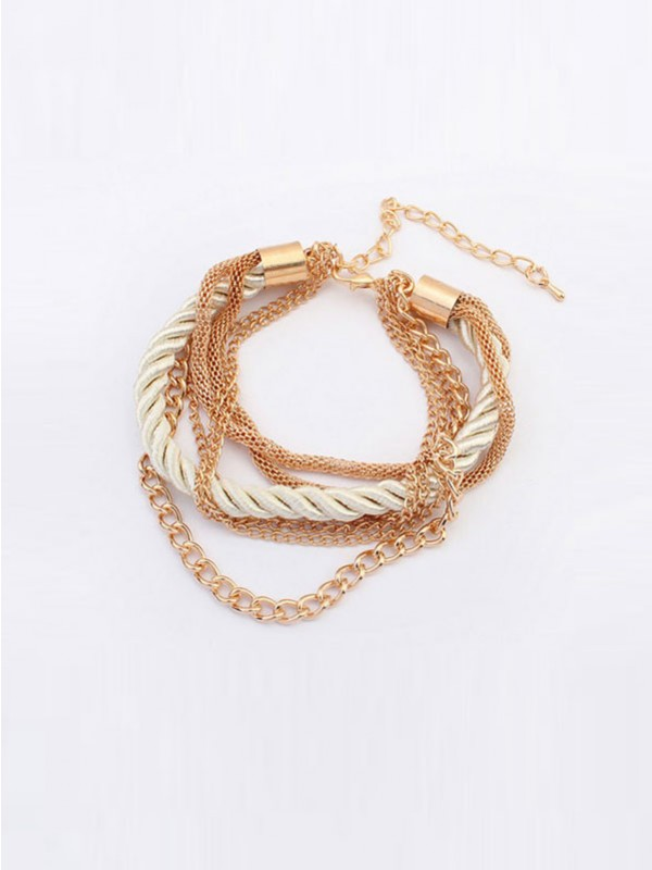 Occident All-match Woven Multi-layered Hot Sale Bracelets