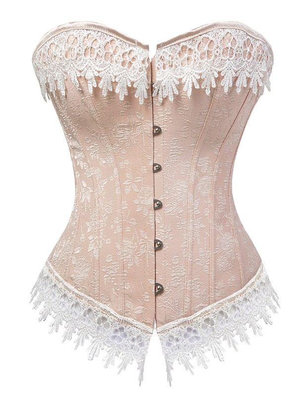 Soft Women's Spandex With Lace Corsets