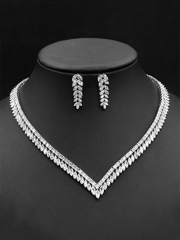 Gorgeous Zircon Jewelry Sets For Ladies