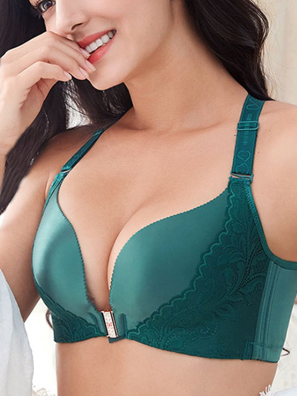 Sexy Lace Front Closure Bras