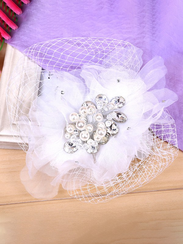 Fashion Flowers Cloth Headpieces