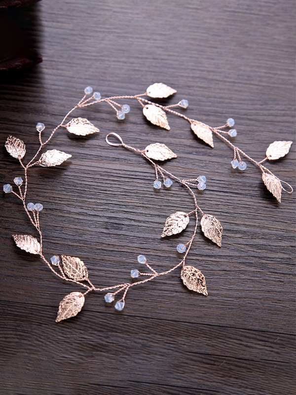 Brilliant Leaf Alloy Headpieces