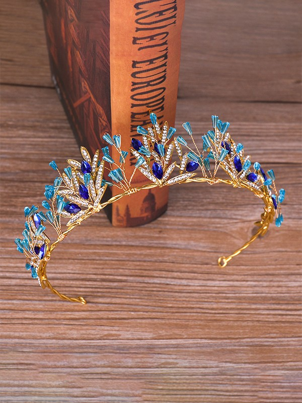 Very Elegant Rhinestone Alloy Headpieces