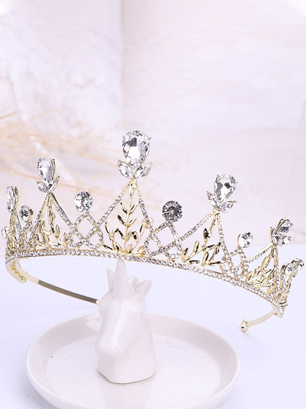 Beautiful Rhinestone Alloy Headpieces